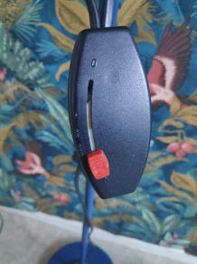 lampadaire 2 spots bleu vintage