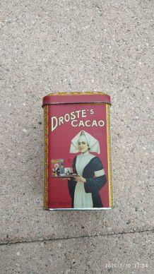 Boite métal cacao Droste's