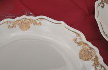 Service porcelaine JAMMET SEIGNOLLES EXCLUSIVE