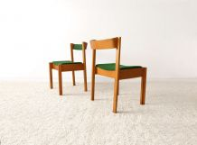 Lot de 4 chaises modernistes vintages