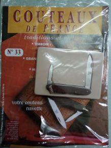 Couteau navette- Couteaux de France