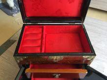 Boîte à bijoux ancienne