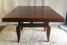 Table modulaire haute et basse en chêne – années 50