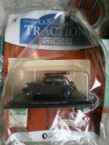 Miniature traction 11 légère gazogène 1941