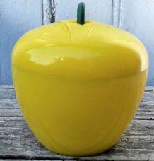 Seau à glace pomme jaune