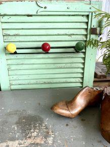 Porte manteaux boules vintage