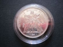 Pièce 10 Francs Hercule 1967 Argent avec capsule de protecti
