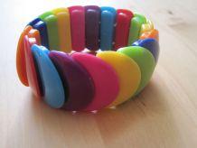 Bracelet réglable par élastique réédition 1970 comme neuf