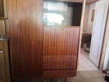 SECRETAIRE 3 EN 1 (penderie, bureau et tiroirs