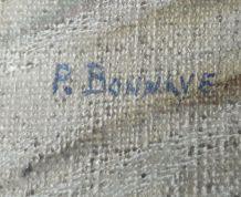 vierge à l'enfant signé p. Bonnave années 50 /60