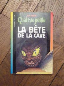 La Bete De La Cave- RL Stine- Chair de Poule n°46- Bayard
