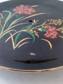 Assiette décorative peint à la main