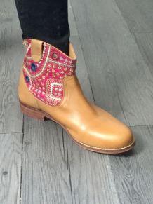 Boots ethnique marque Antik Batik