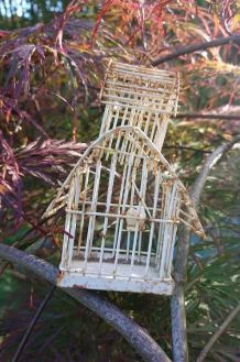 Petite cage à oiseaux ancienne