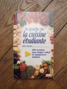Le Guide De La Cuisine Étudiante- Sabine Duhamel
