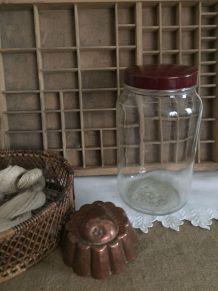 Grand bocal  2 litres - bouchon bakélite