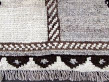 Tapis vintage Persan Gabbeh fait main, 1Q0273