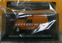 Miniature Renault 4 F6 fourgonnette service autoroute