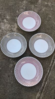Assiettes creuses ADAMS English Ironstone