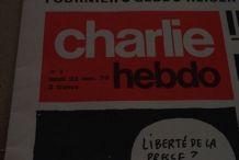 Exceptionnel !! 1er numéro de CHARLIE HEBDO du 23 novembre 1