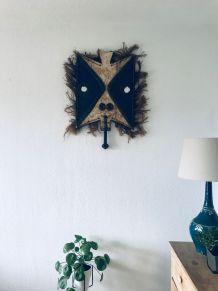Ancien masque africain Toussian
