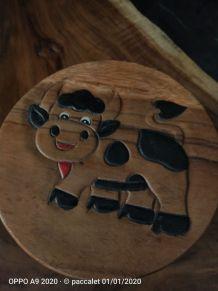tabouret enfant en bois