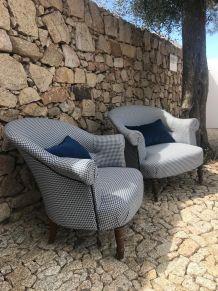 fauteuils crapaud