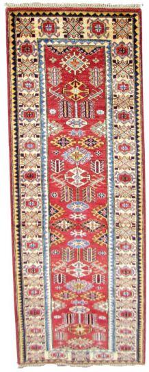 Tapis vintage Afghan Zigler fait main, 1Q0282