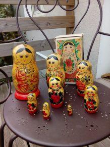 Poupées russes gigognes matriochka