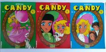 Livres bd Candy N°3,4,5 Editions TELE GUIDE 1978 Vintage