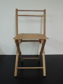 Chaise pliante enfant