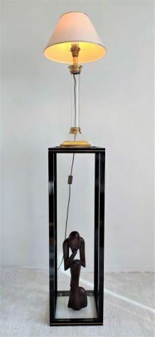 Très belle et rare sellette design des 70'S Pierre Vandel