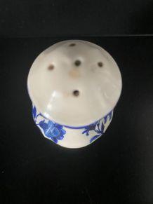 Salière porcelaine française fin XIX ème