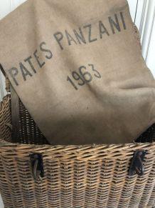 Sac en jute, pâtes Panzani - 1963