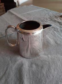 Pot à lait anglais vintage en argent