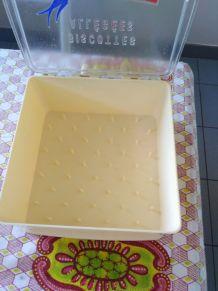 Boîte à biscottes vintage