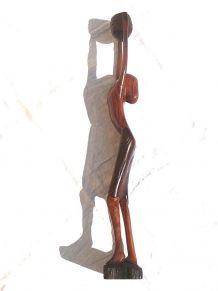 statue  femme  africaine