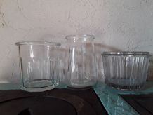 Anciens pots à confiture