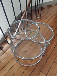 Table basse 3 plateaux
