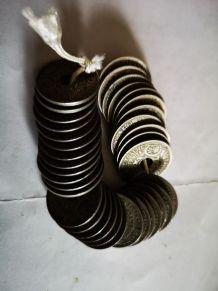 gros lot de pièces à trou anciennes