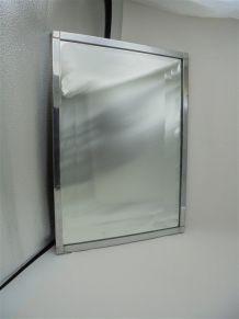 Miroir en cuivre chromé