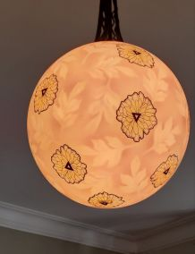 Suspension Boule Art Déco