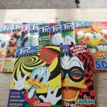 lot de picsou magazines années 90