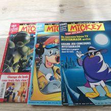 Lot journal de mickey