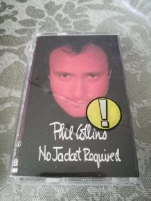 Cassette audio — Phil Collins - No Jacket Required
