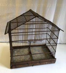 Cage à oiseaux ancienne  – années 50
