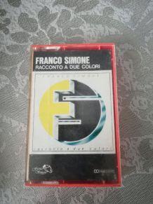 K7 audio — Franco Simone - Racconto a due colori