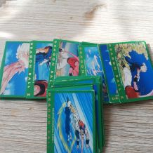 lot de cartes dragon ball z