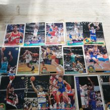 lot de cartes basketball vintage