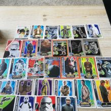 lot de cartes star wars